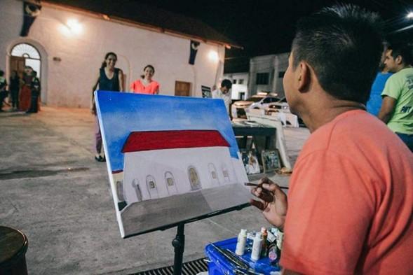 Conmemoración 323 años de la toma de Noh Petén
